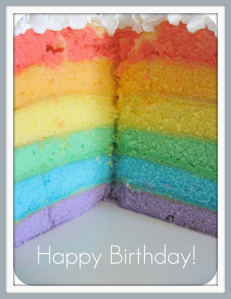 Pinks Amp Needles Rainbow Layer Cake Recipe