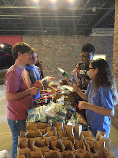Montgomery Catholic's Key Club Serves the Homeless with the Help of Reality & Truth Ministry 1