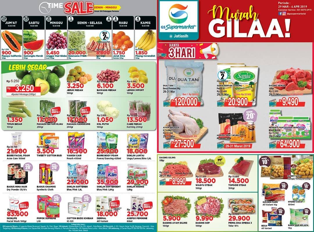 #GSSupermarket - #Promo #Katalog Weekend Periode 29 - 04 April 2019