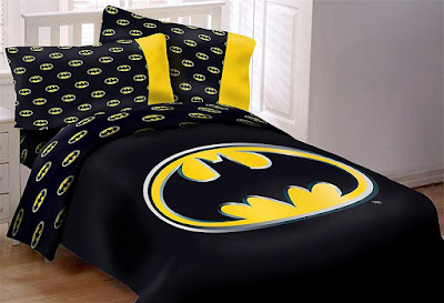 Batman Emblem Reversible Comforter Set