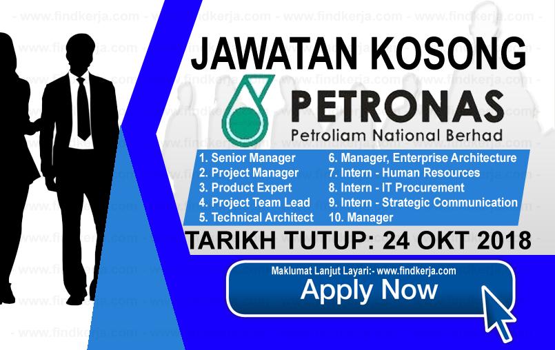 Jawatan Kerja Kosong PETRONAS ICT Sdn Bhd logo www.ohjob.info www.findkerja.com oktober 2018