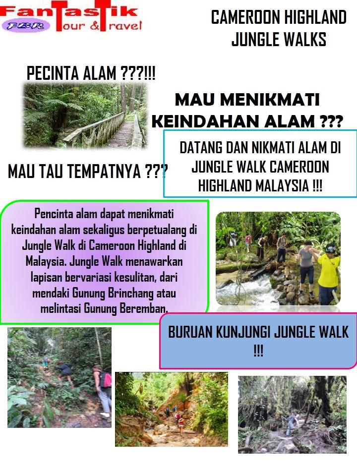 Trip Cameroon Highland Malaysia Tanggal 06