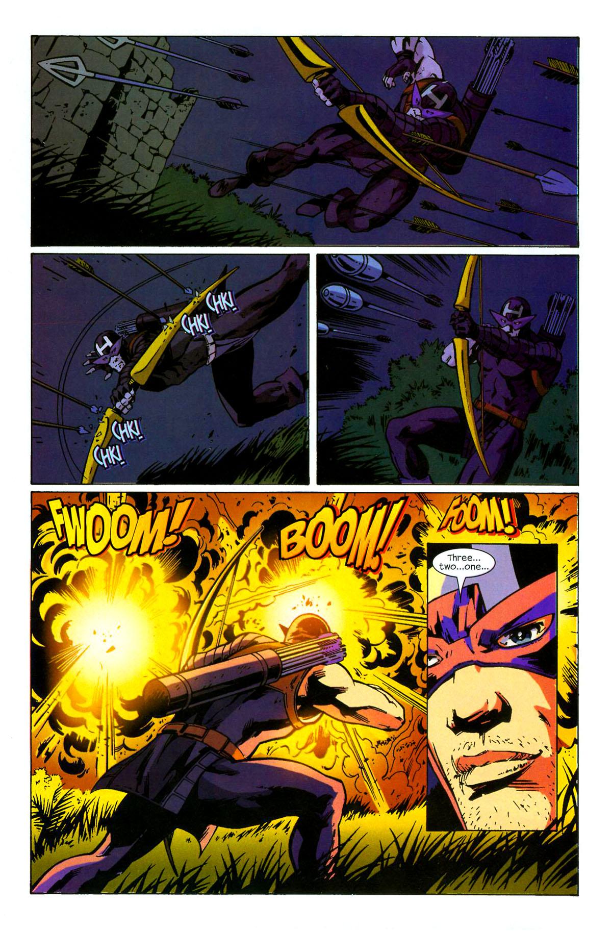 Hawkeye (2003) Issue #6 #6 - English 8