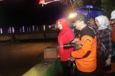 Bupati Klaten Tangani Banjir