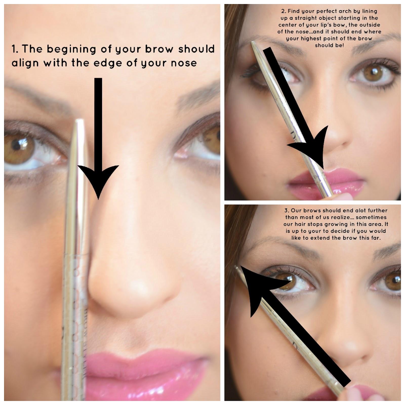 Priscilla Francine Makeup: The Perfect Eyebrows