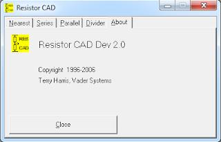 Screenshot 1: Resistor CAD