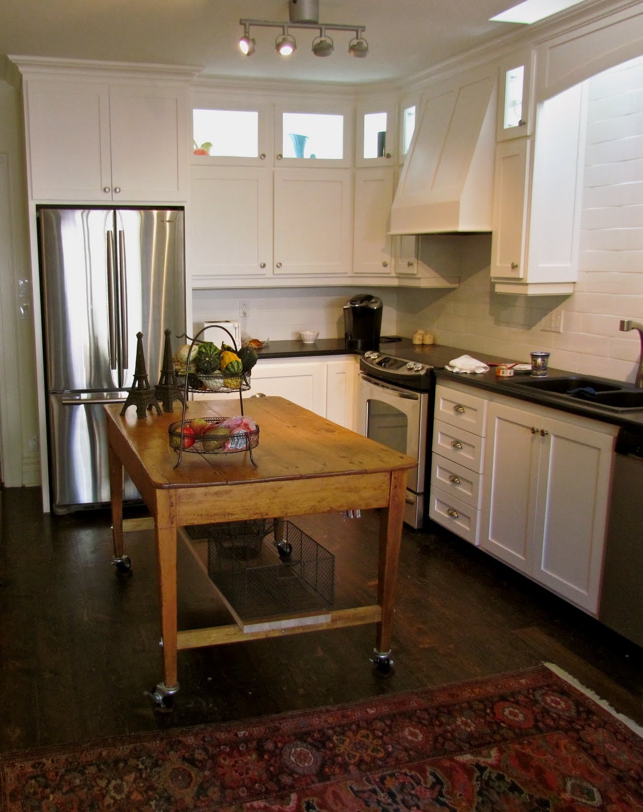 Center Island Kitchen Table All Wood My Diy
