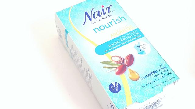 Nair Nourishing Argan Oil Collection Review