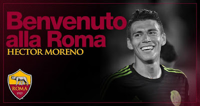 Hector Moreno a la Roma