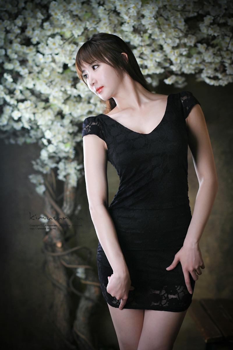 Xxx Nude Girls Yeon Da Bin In Black-4012