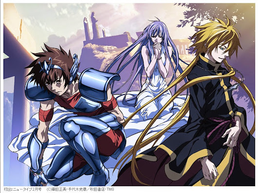 Ver: Serie Clasica: The Lost Canvas Saint Seiya Omega Soul of Gold ...