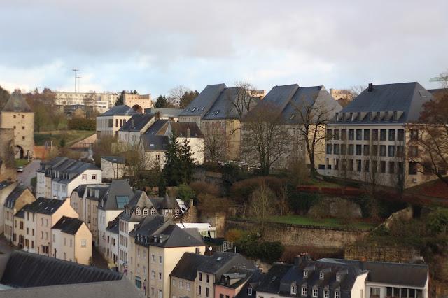 lussemburgo dall'alto