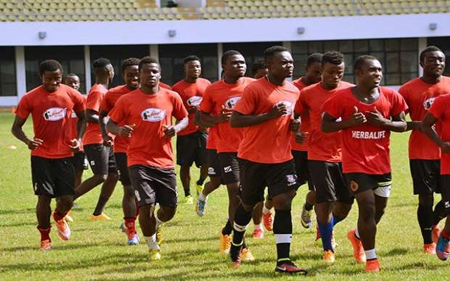 Asante Kotoko prepares at Akropong for Dreams FC clash