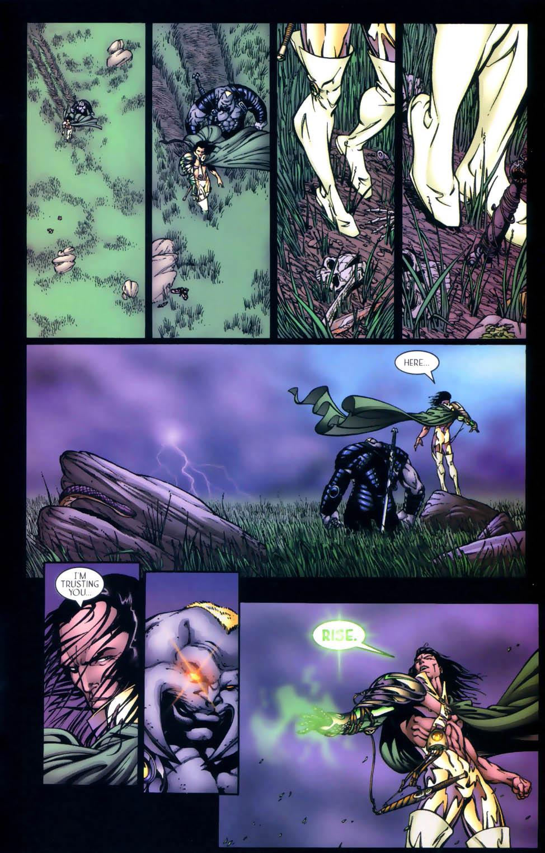 Read online Sigil (2000) comic -  Issue #4 - 28