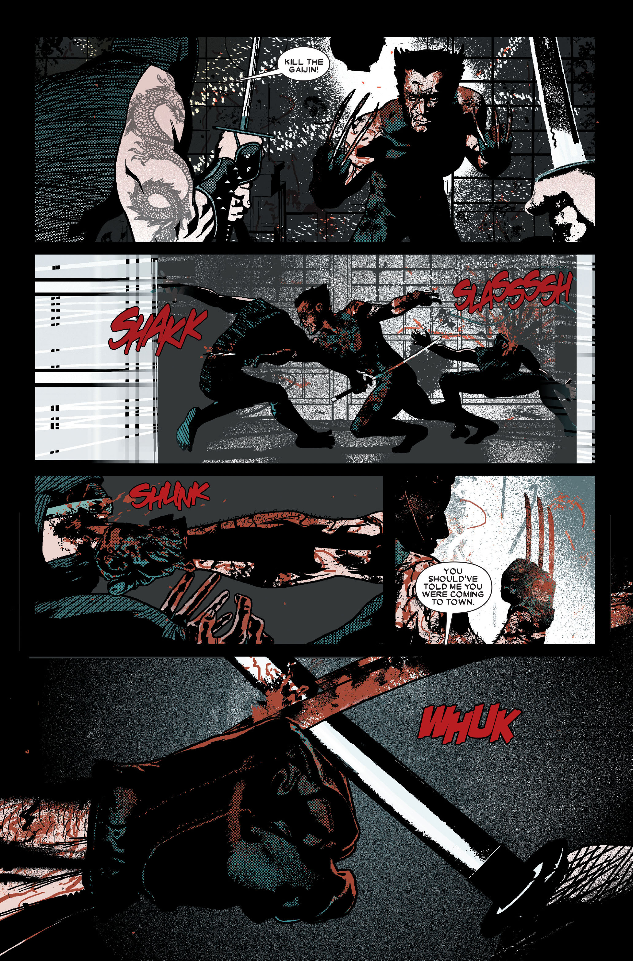 Read online Wolverine: Weapon X comic -  Issue #10 - 6