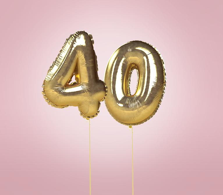 A Ravioli: Hoje faço 40 anos!