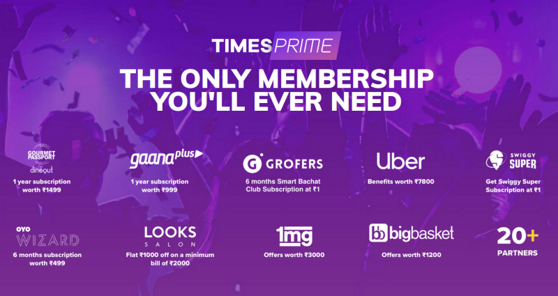 Times Prime Referral Code Free Subscription