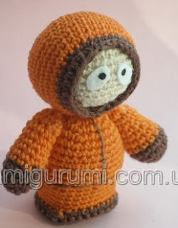 PATRON GRATIS KENNY (SOUTH PARK) AMIGURUMI 423