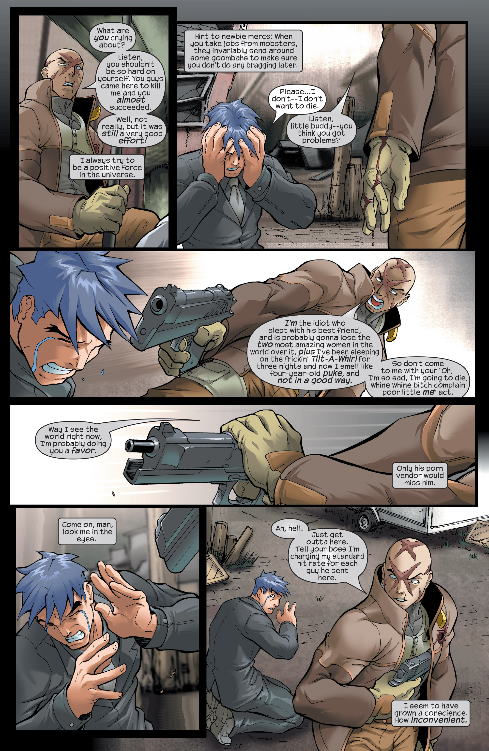 Read online Agent X comic -  Issue #13 - 8