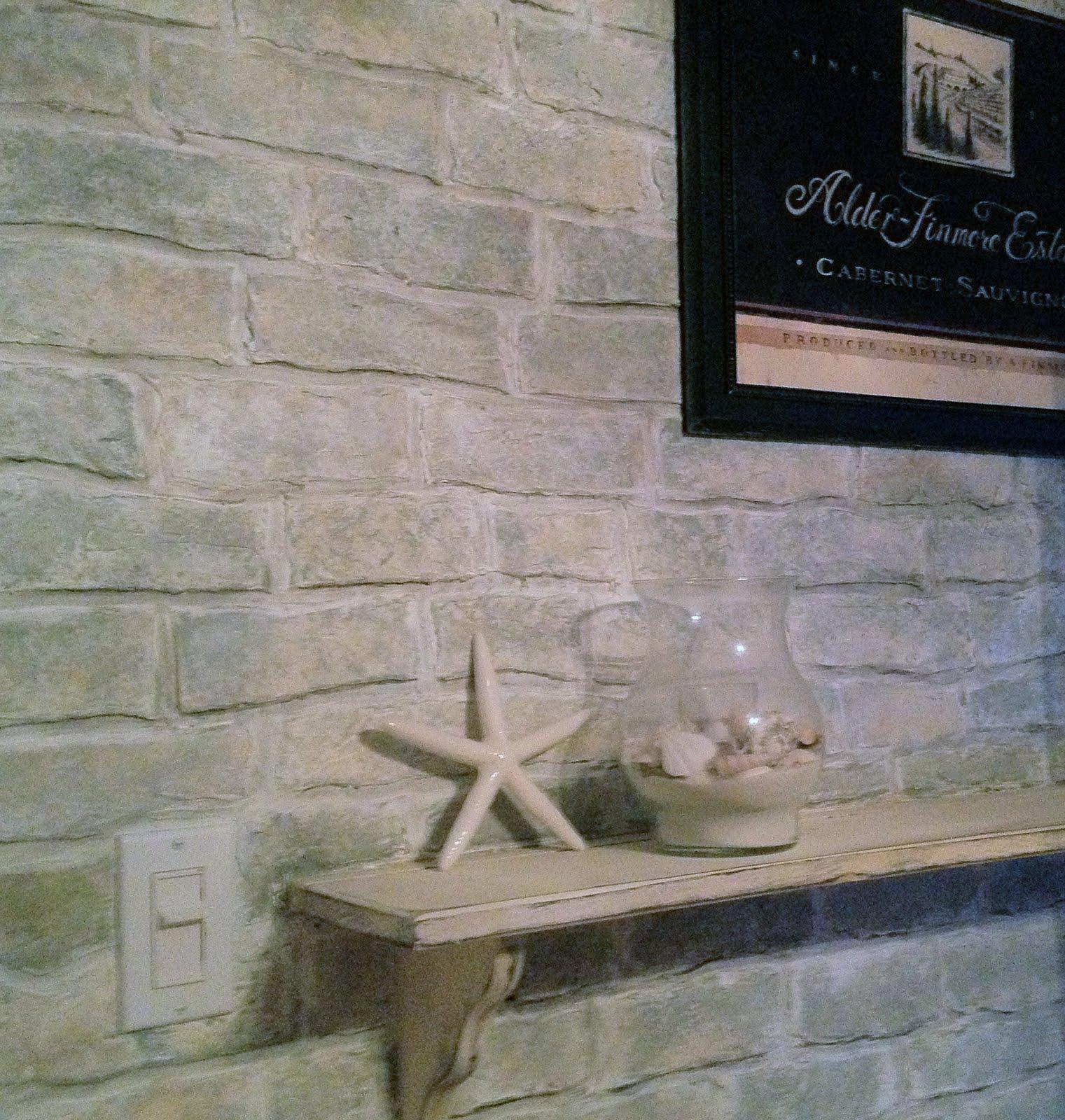 White Faux Brick: Welcome To Muddaritaville Studio: Faux Brick ... Our