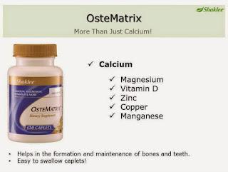 Calcium; magnesium; vitamin D; zinc; copper; manganese; shaklee penang; ostematrix promotion; shaklee labuan; shaklee Brunei