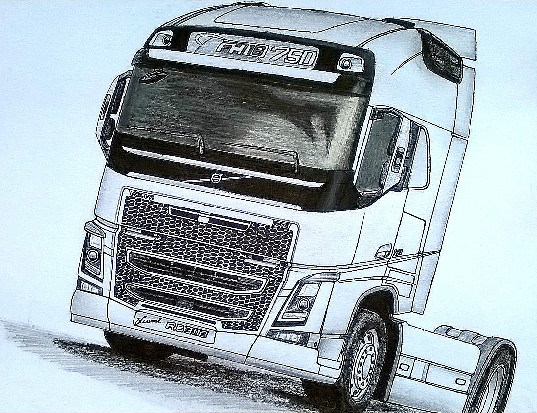 Ismael Desenhos Volvo Fh16 750
