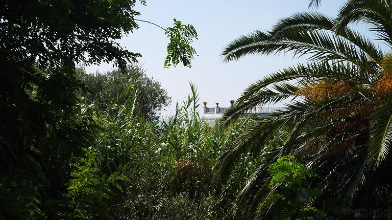 Villa immersa nel verde a Capri