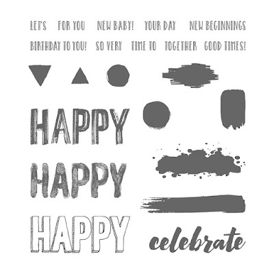 Stampin' Up! UK Independent Demonstrator Susan Simpson, Craftyduckydoodah!, Happy Celebrations, Supplies available 24/7 from my online store,
