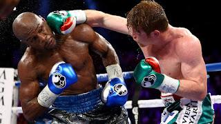 Floyd Mayweather versus Conor McGregor