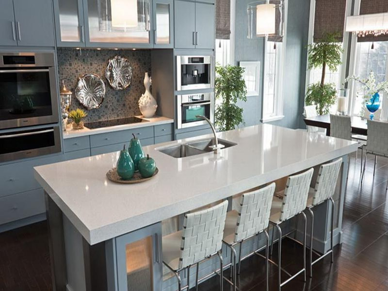 Merveilleux Valley White Granite Kitchen Countertop Ideas