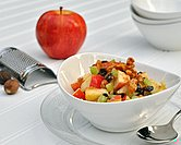 September - Healthy Waldorf Salad