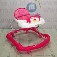 Family F136 Roller Toy Baby Walker Pink