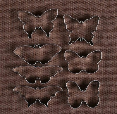 cookie cutter bentuk kupu-kupu (butterfly cookie cutters)