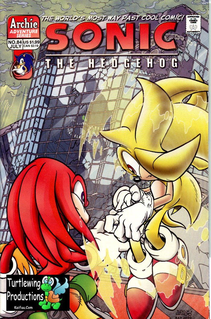 Read online Sonic The Hedgehog comic -  Issue #84 - 1