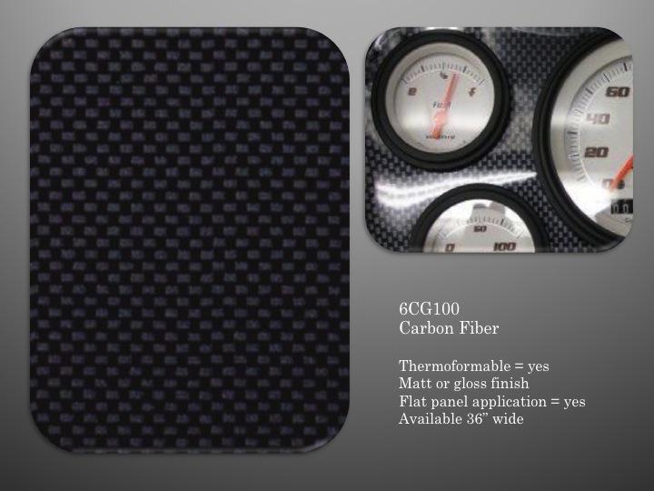Custom Instrument Panels | Boat Dash material for gauge panels