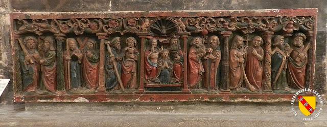 NANCY (54) - Musée lorrain : Retable de Badonviller (1530)