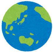 地球のイラスト(惑星)
