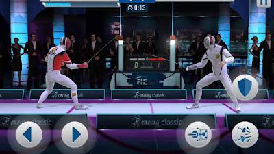 لعبة FIE Swordplay للأندرويد، لعبة FIE Swordplay مدفوعة للأندرويد