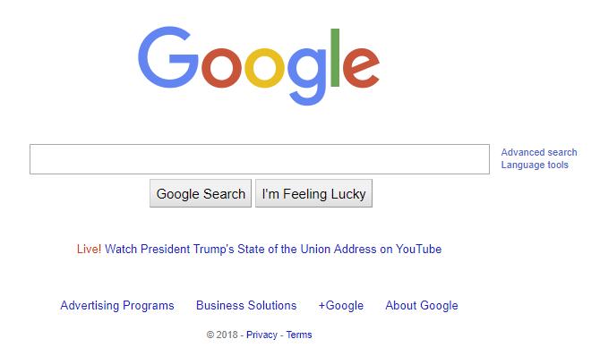 Debunking Trump's claim of Google's SOTU bias - Security