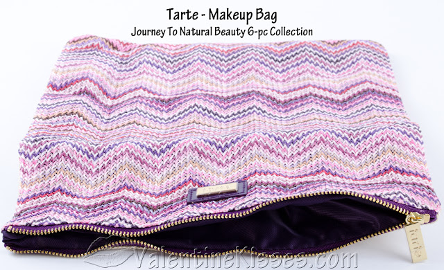 Valentine Kisses Tarte Journey To Natural Beauty 6 Pc Collection Before After Pics Swatches Review Fotd