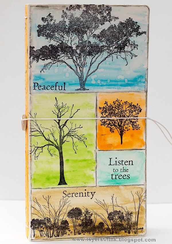Tree Sketch Journal Tutorial