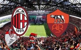 Hasil AC Milan vs AS Roma