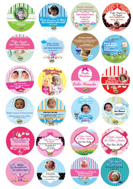 Sticker Majlis Aqiqah
