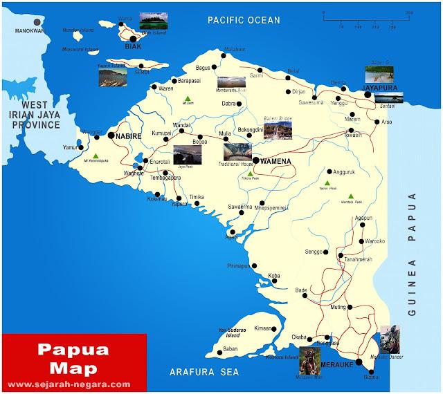 image: Papua Map High Resolution