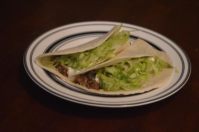 Ranch Beef Tacos