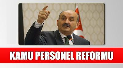 Kamu Reformunda Önemli Düzenlemeler Hayata Geçecek