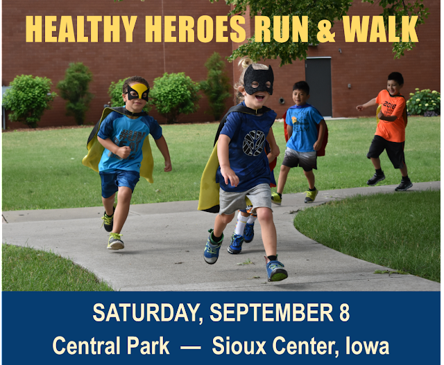 Healthy Heroes Run & Walk