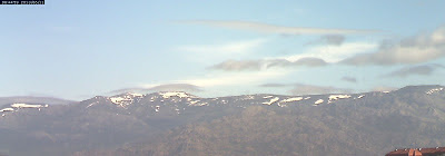 Nieve vista desde Madrid