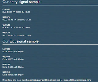 forex pips signal service