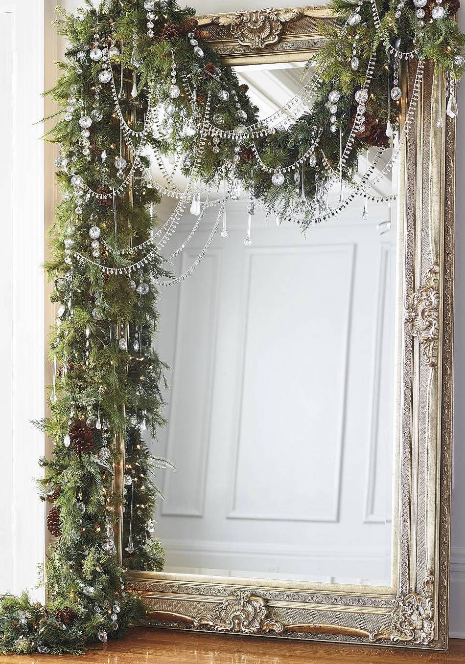 Frontgate Crystal Ice 60 Piece Ornament Collection